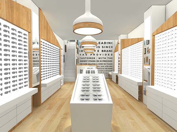 Optical Shop Showcase of UK